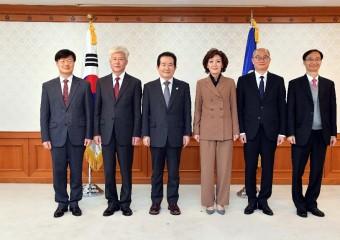 국립대 총장 임명장 수여식